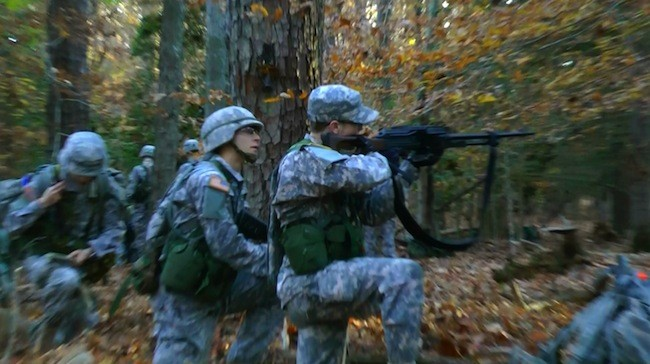 ROTC program instills camaraderie and grit in students
