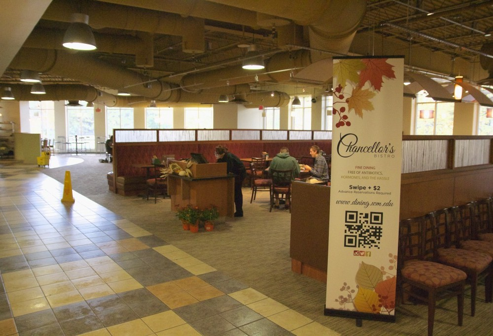Increased turnout by semester's end in Chancellor's Bistro