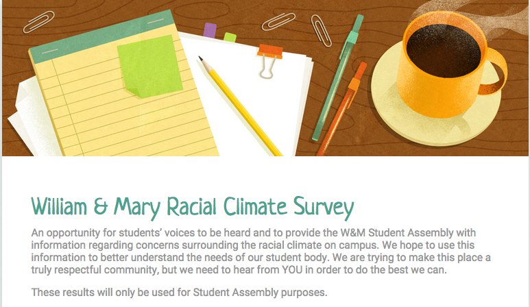 SA launches William and Mary Listens, campaign that gains feedback from students about campus climate
