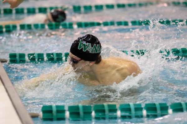 Swimming: College men, women defeat Old Dominion