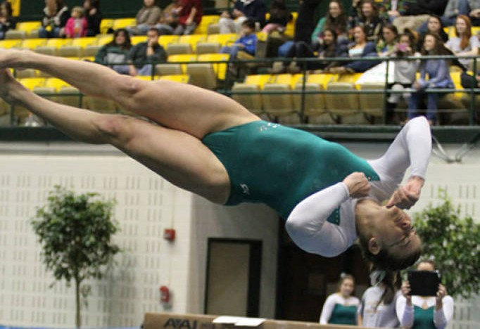 Gymnastics: No. 14 men finish fourth at Navy Open, women third at Towson