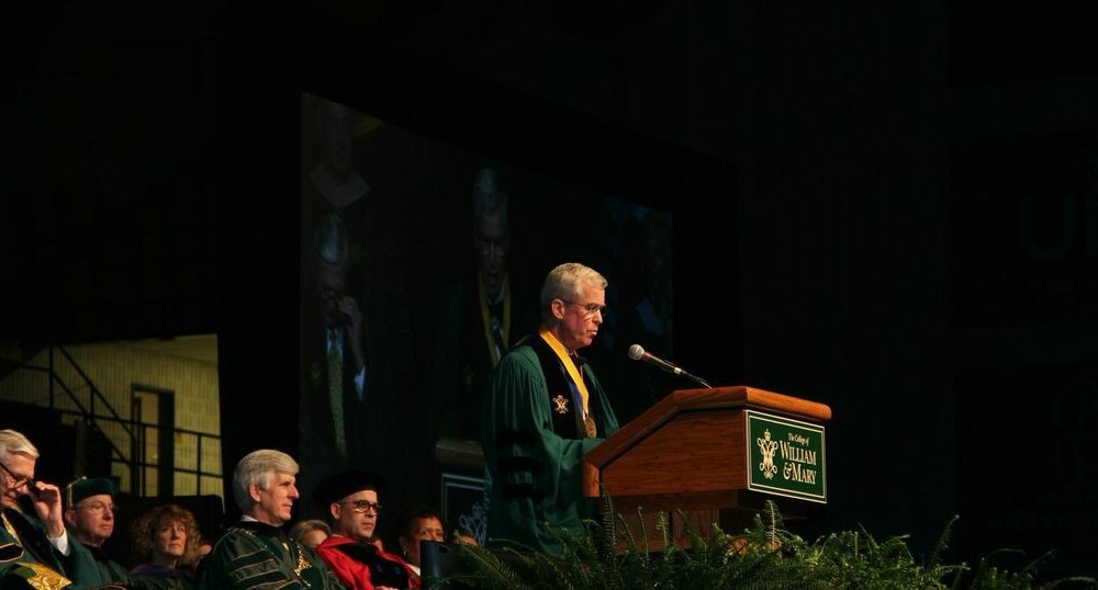 Charter Day speaker Murray addresses the legacy of James Monroe in speech