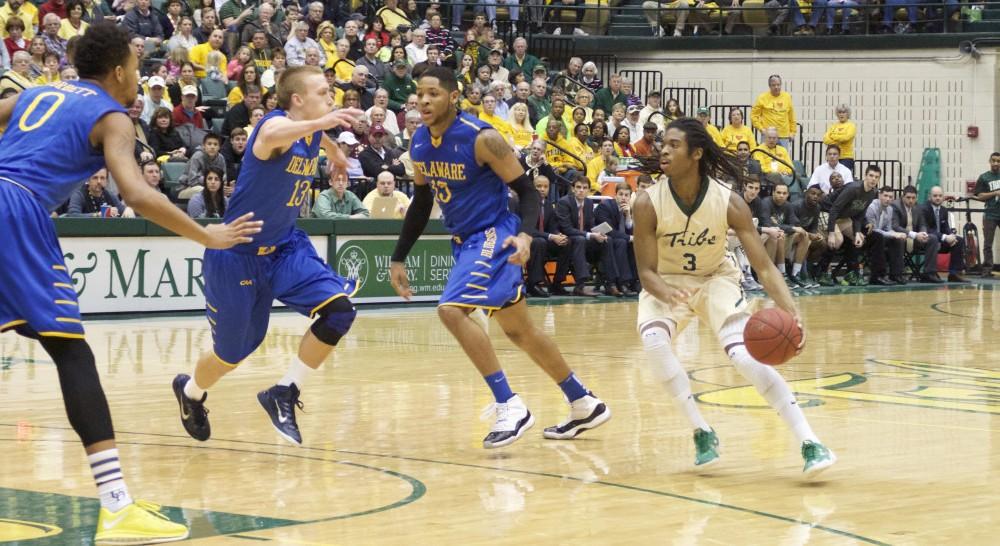 Men's Basketball: Tribe rally falls short against Delaware