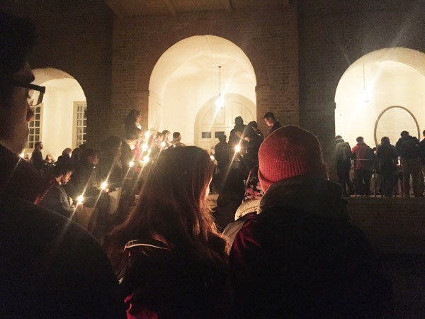 Vigil held for Chapel Hill deaths