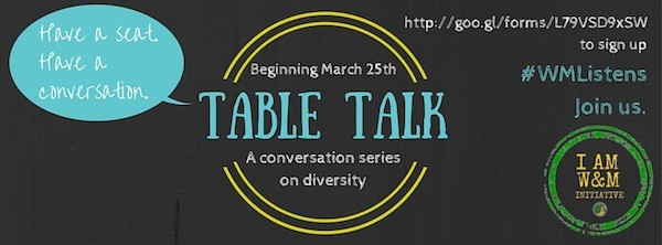 Student Assembly launches Table Talk program