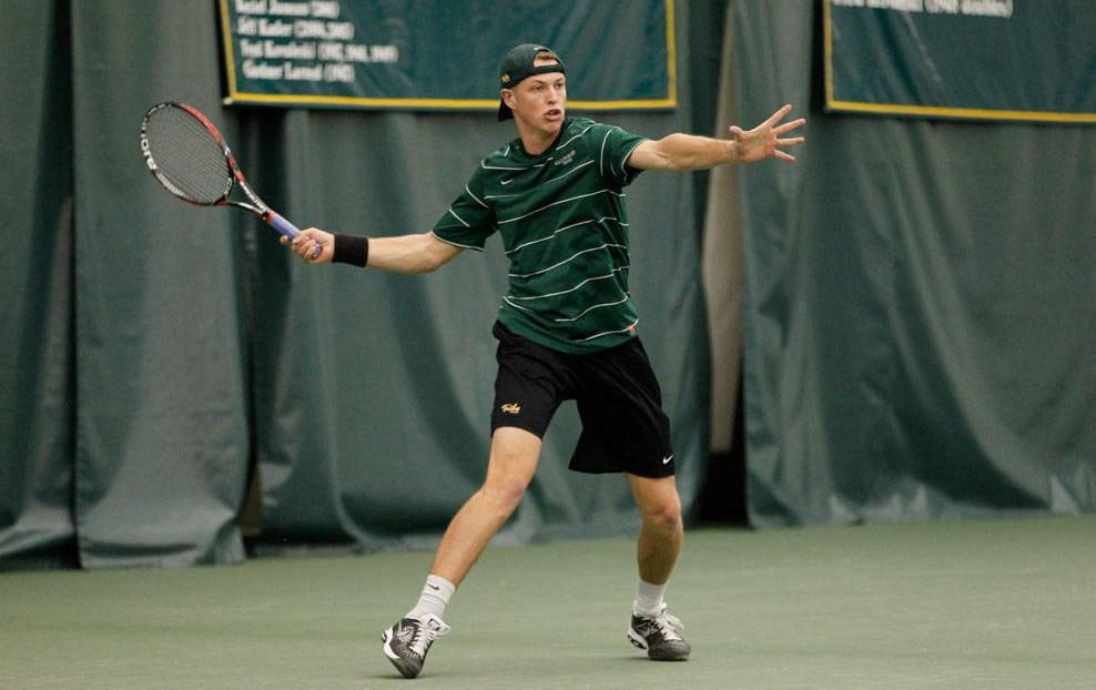 Men's Tennis: Tribe tops George Mason
