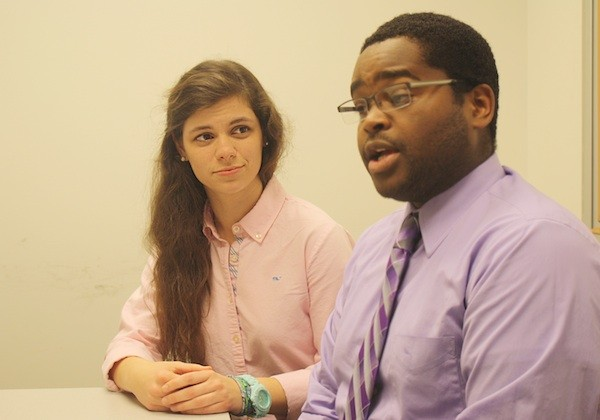 Introducing the candidates: Claire and Marcell