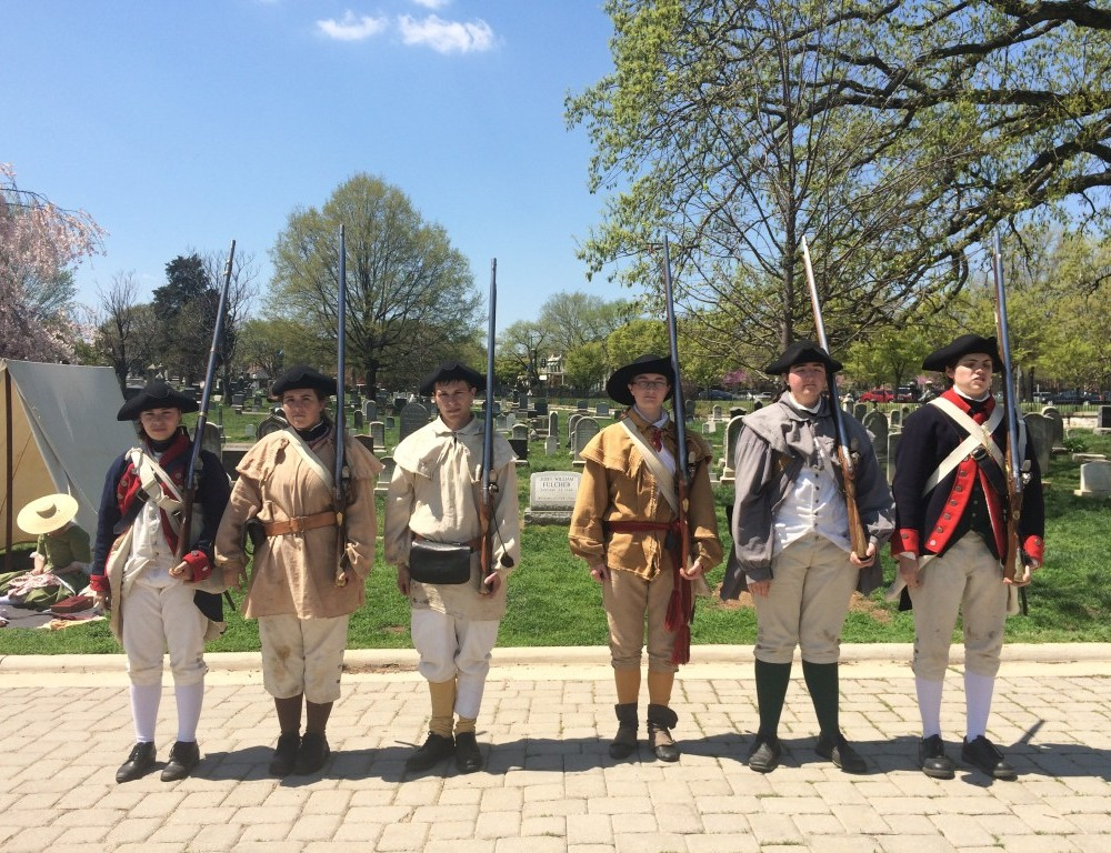 The College Company's reenactments revolutionize the teaching of history