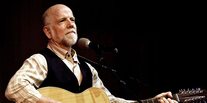 That's all folks: Musician John McCutcheon performs at Williamsburg Library