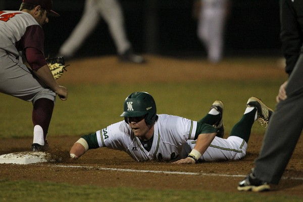 Baseball: Tribe defeats Old Dominion 11-9, falls to Virginia 3-2 in midweek games