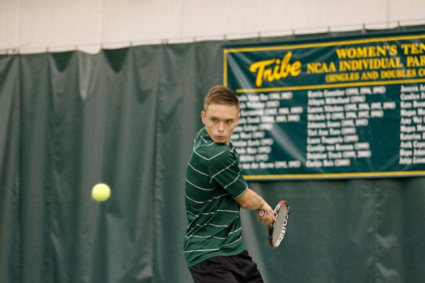 Men's Tennis: Tribe sweeps Liberty 4-0 at home