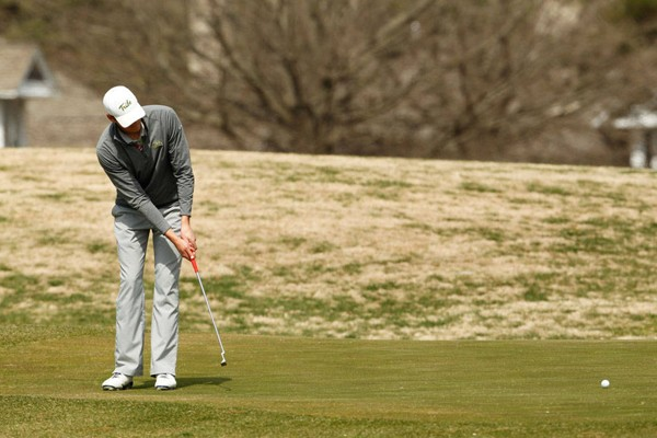 Men's Golf: College 11th at Redhawk