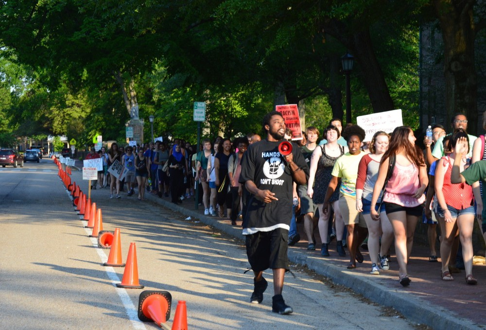 Students organize protests against police brutality