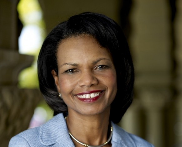 Condoleezza Rice delivers Commencement speech