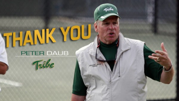Men's Tennis: Head Coach Peter Daub's Final Season
