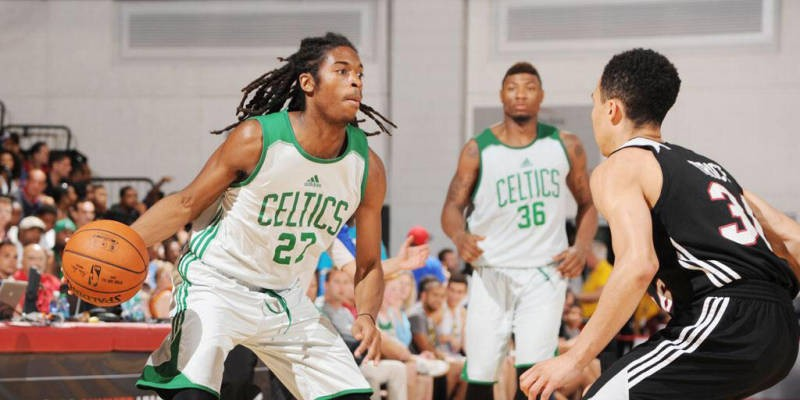 Alumni Focus: Marcus Thornton debuts with Celtics in Summer League action