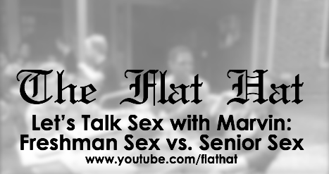 Let's Talk Sex with Marvin: Freshman Sex vs. Senior Sex