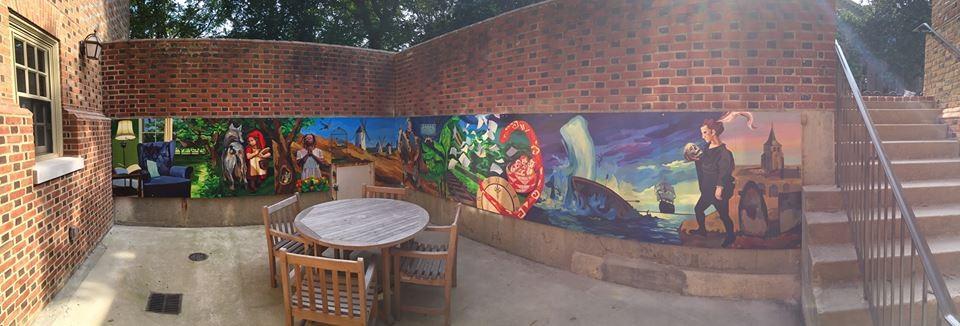 Behind the Brick Walls: Tucker Hall mixes past and present