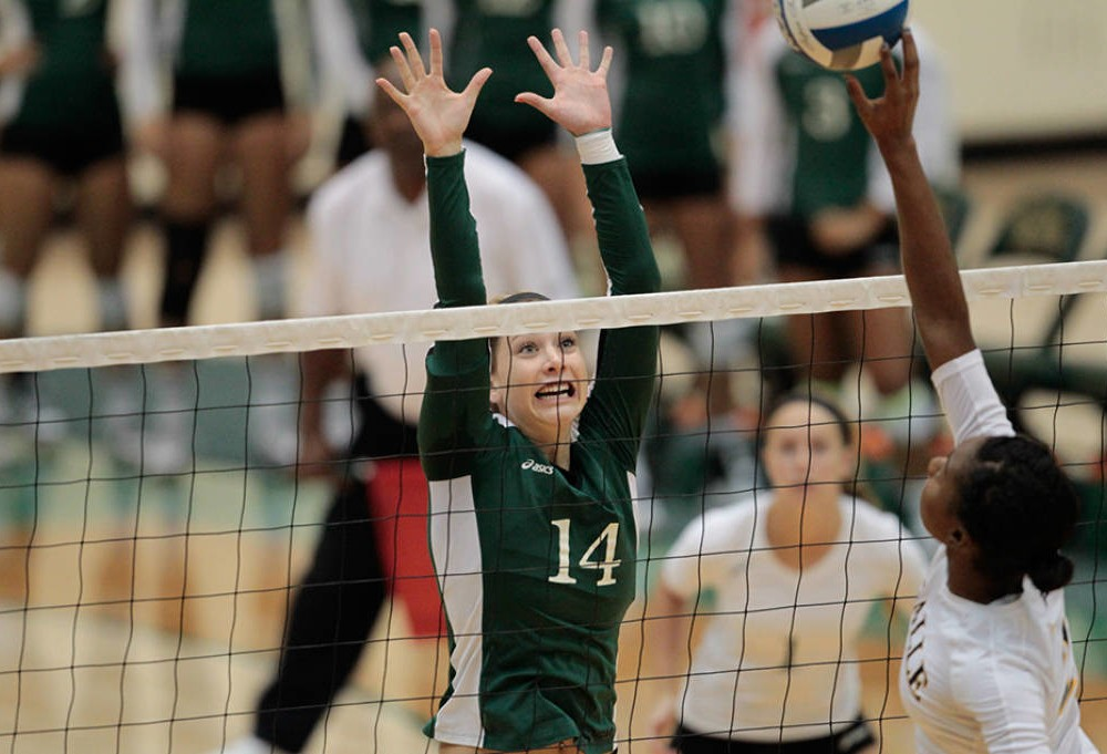 Volleyball: Tribe falters early in Army Invitational, defeats Iona