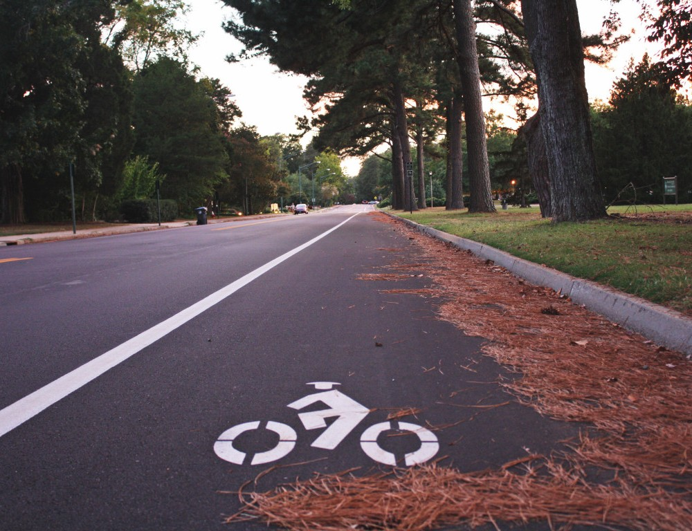 Williamsburg adds new bike lanes along campus