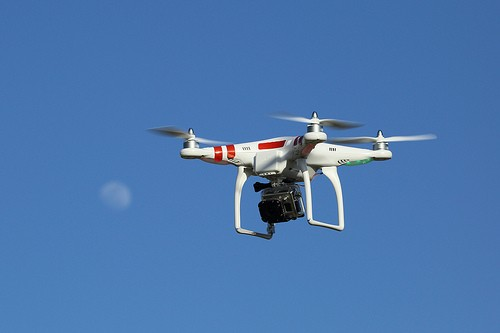 The College restricts use of drones on campus