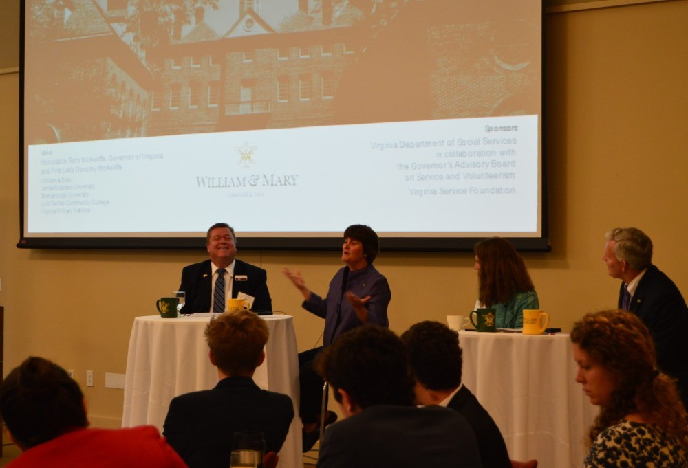 College presidents hold service year summit at the College