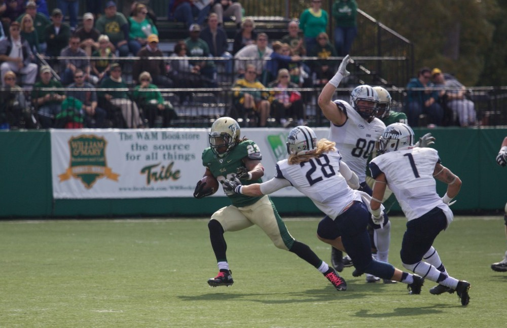 Football: No. 24 College upsets No. 19/20 New Hampshire with 34-18 win