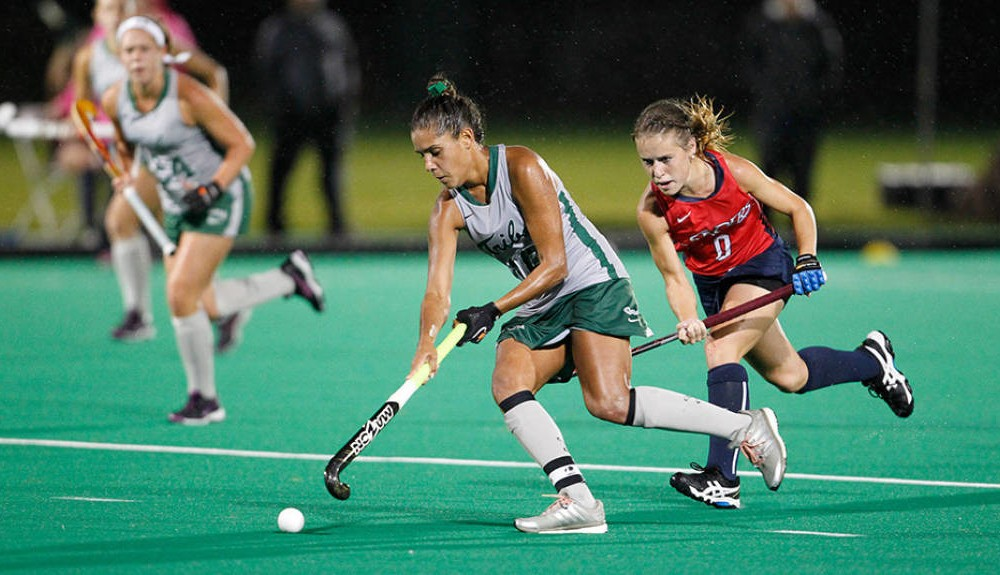 Field hockey: Tribe falls 2-1 to Northeastern off late penalty stroke