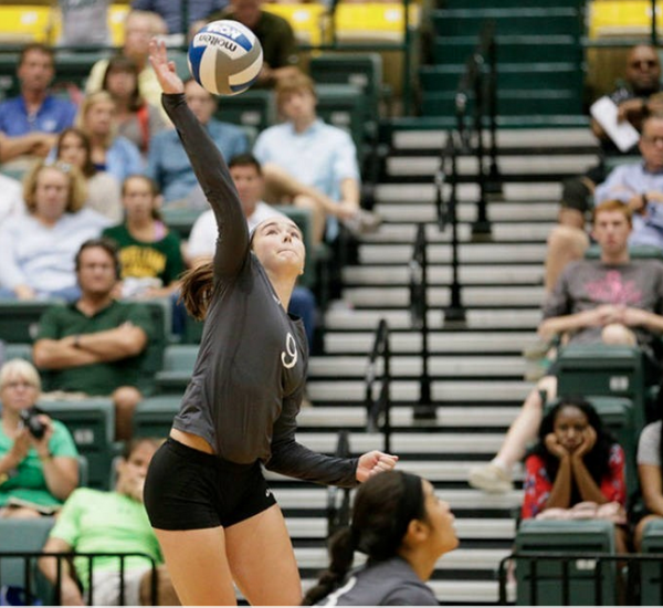 Volleyball: Tribe falters against last place Elon
