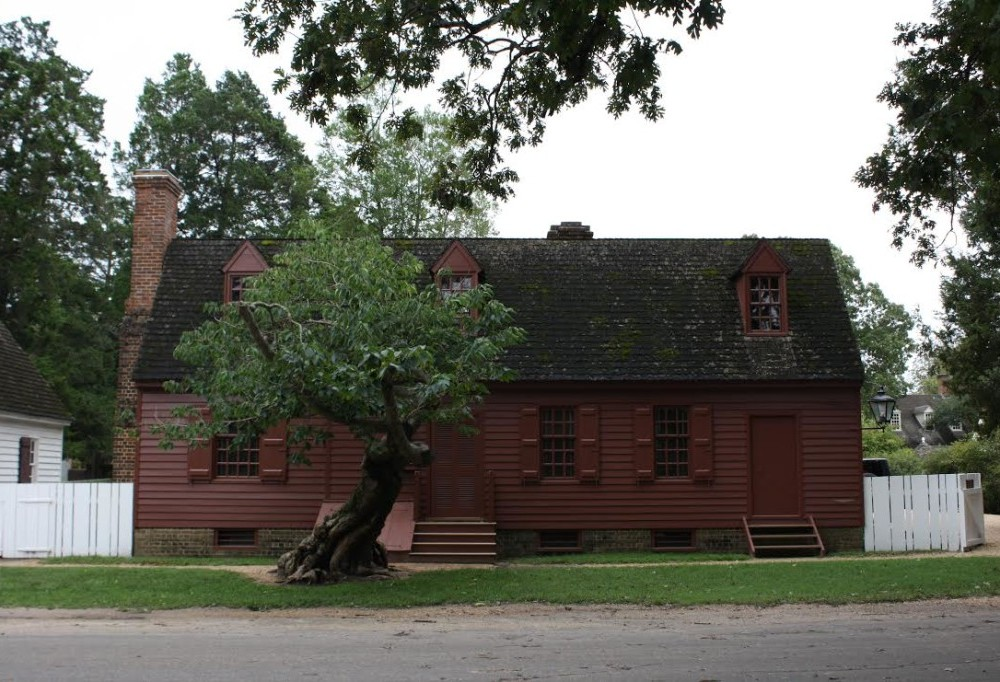 Living alongside the past in Colonial Williamsburg house