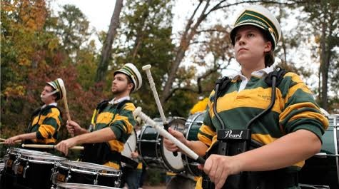 Pep band blasts school spirit from the sidelines