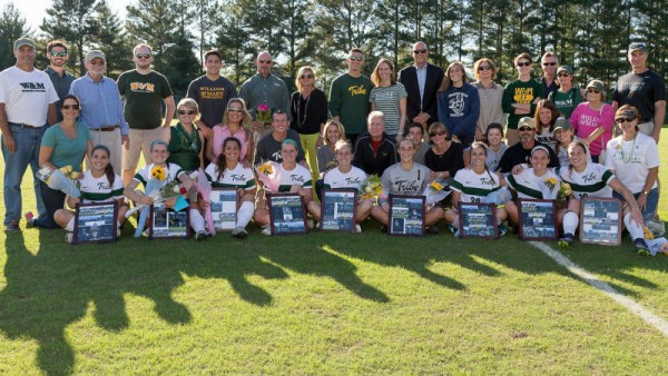 Women's soccer: First half goal gives College 1-0 win over UNCW on senior day