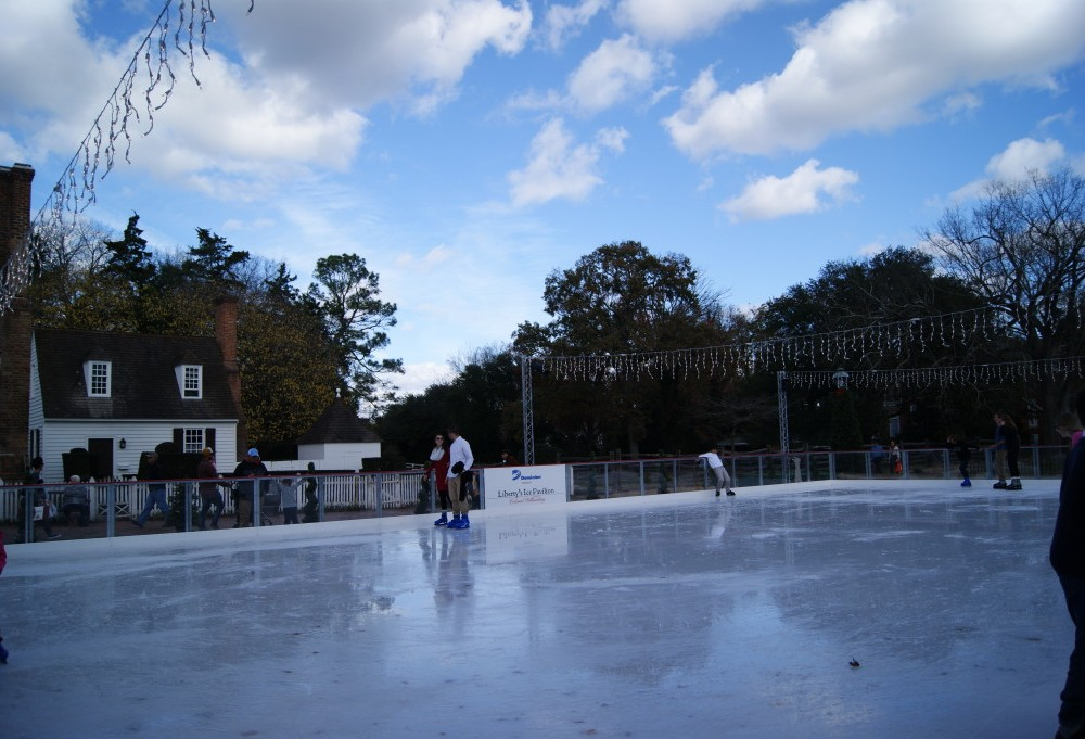 Liberty's Ice Pavilion opens in Colonial Williamsburg