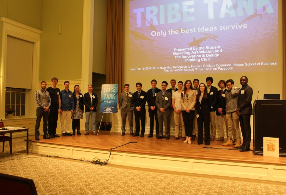 Students present ideas at Shark Tank style event