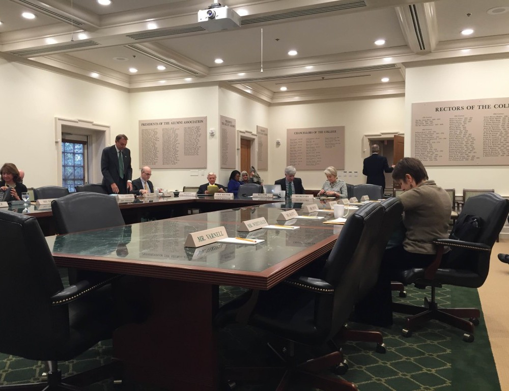 Board of Visitors discusses reaccreditation process, Joint-Degree Programme