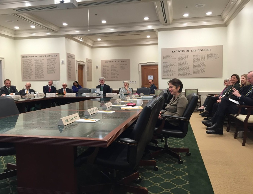 Board of Visitors discusses VIMS, passes resolution