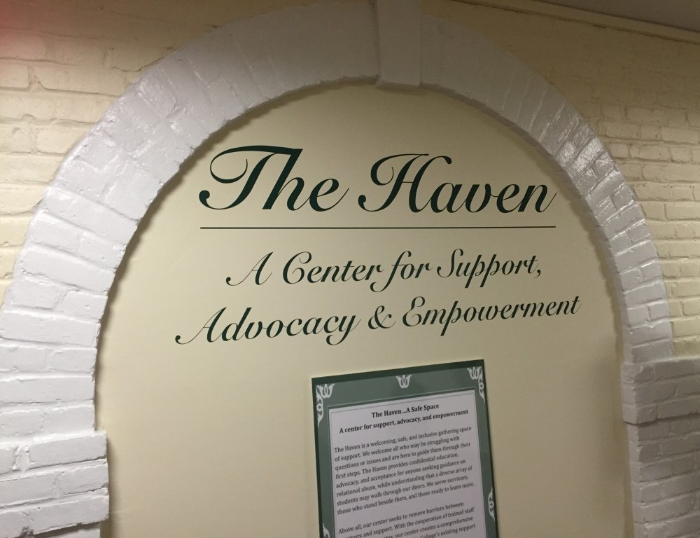 Volunteers for the Haven discuss its first year
