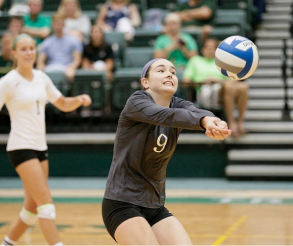 Volleyball: Tribe upends Delaware 3-1 to stay in CAA playoff race