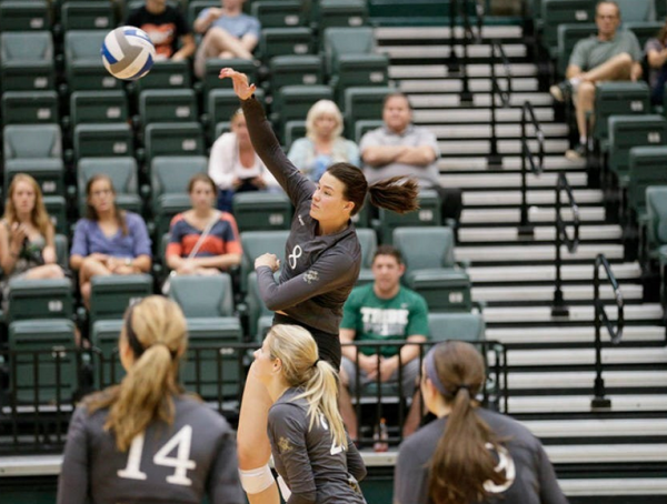 Volleyball: Tribe miraculously enters CAA tournament as No.6 seed.