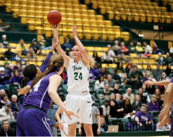 Women's basketball: Triple losses give way to triple-double