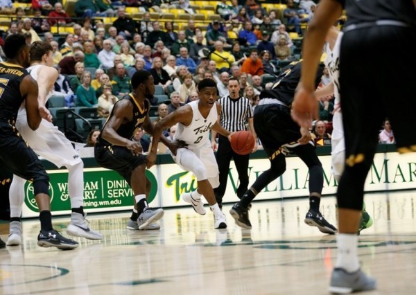 "Men's Basketball: Tribe ""punked"" in CAA opener vs Towson"