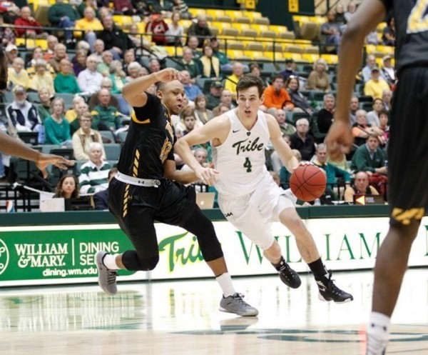 Men's Basketball: Tribe hot in 1st half, beats College of Charleston at home.