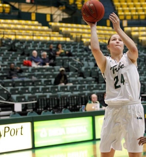 Women's Basketball: Tribe slips up in OT against Northeastern