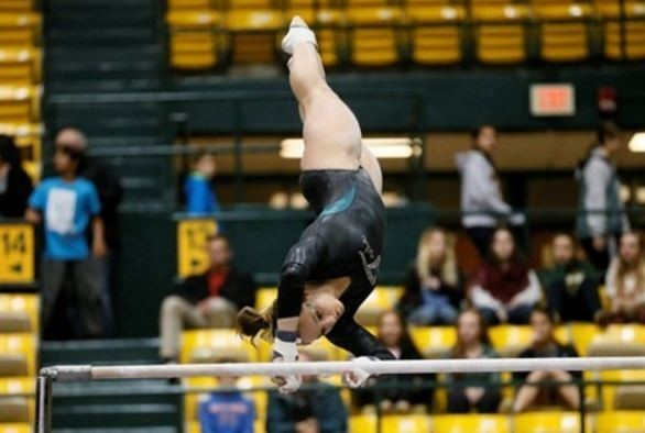 Women's gymnastics: College drops tight match at West Virginia
