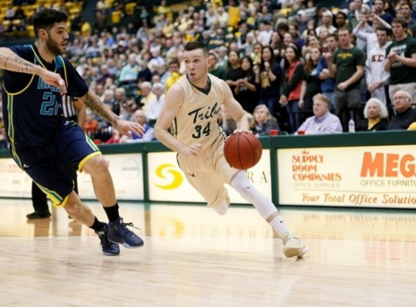 Men's basketball: Tribe tops UNCW at Kaplan Arena Thursday with huge late run