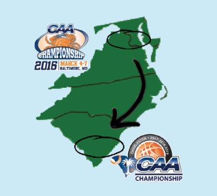 Basketball: CAA announces location changes for men's and women's tournaments for 2017-2019