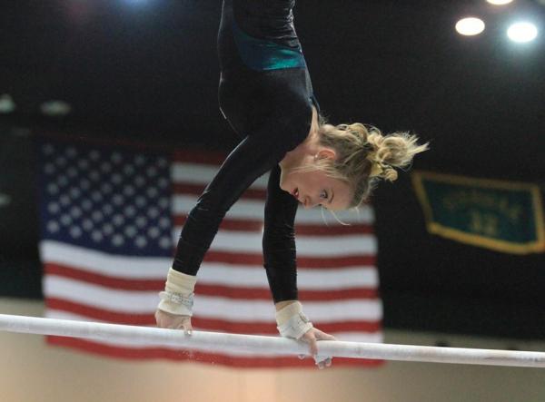 Gymnastics: Men and women both set season-high marks in losing efforts