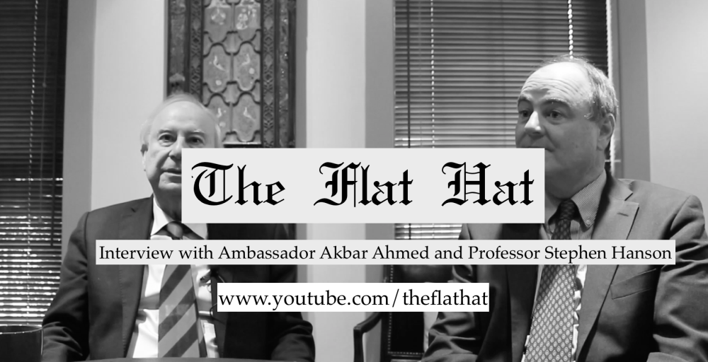 Interview with Ambassador Akbar Ahmed and Professor Stephen Hanson