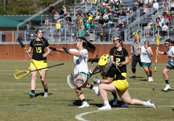 Lacrosse: Tribe takes nailbiting home opener against Oregon 15-14