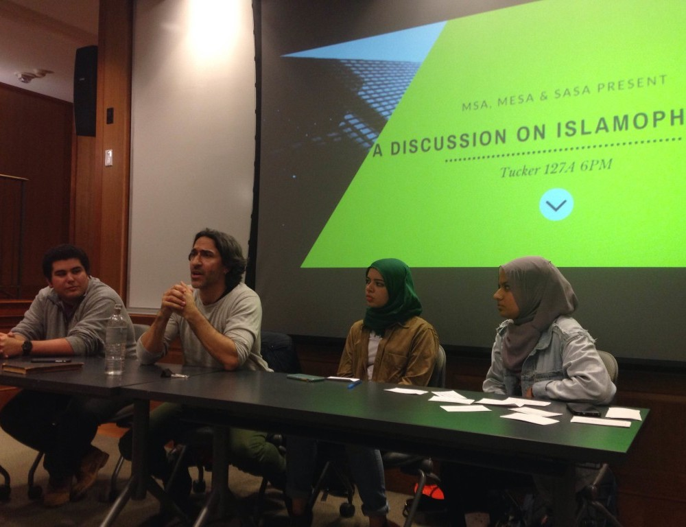 Student groups sponsor discussion on Islamophobia